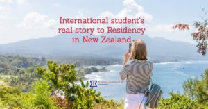 International student's real story to Residency in New Zealand