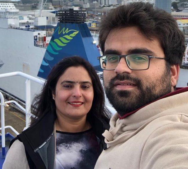 Manveen and Aseem